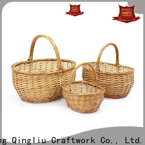 Yimeng Qingliu white baskets for business for outside