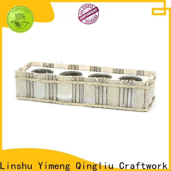 Yimeng Qingliu wooden apple box supply for garden