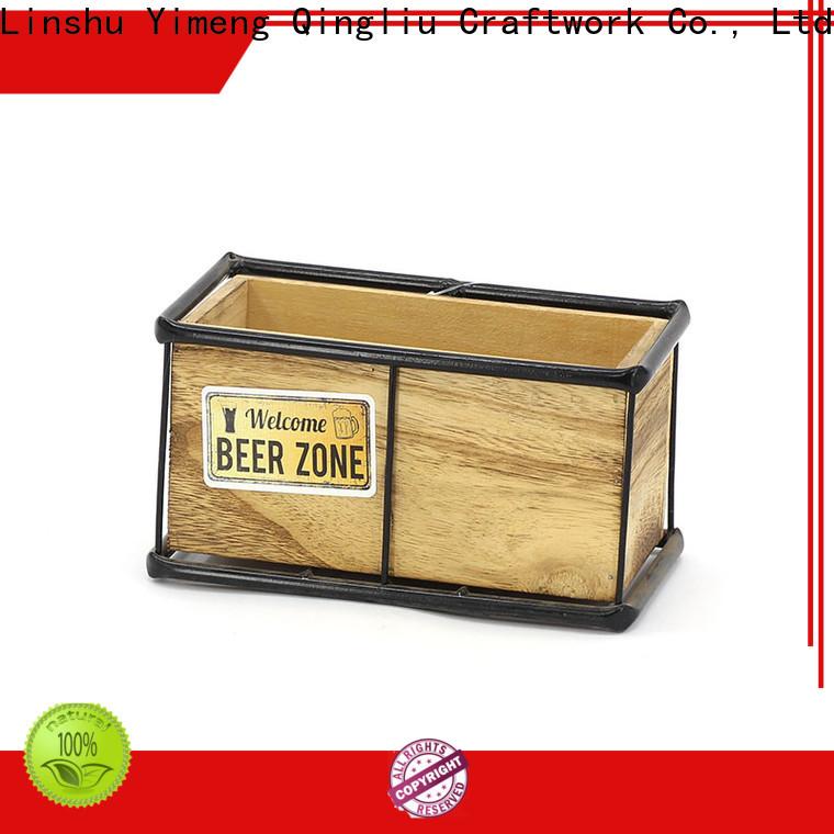 Yimeng Qingliu wooden planters for bamboo company for garden