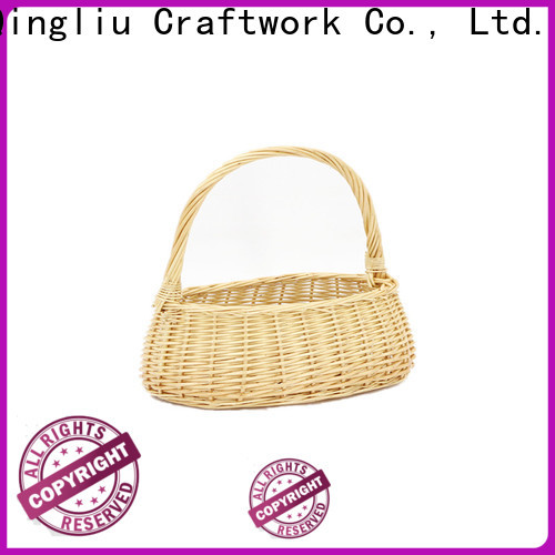 wholesale under bed wicker storage baskets manufacturers for outside