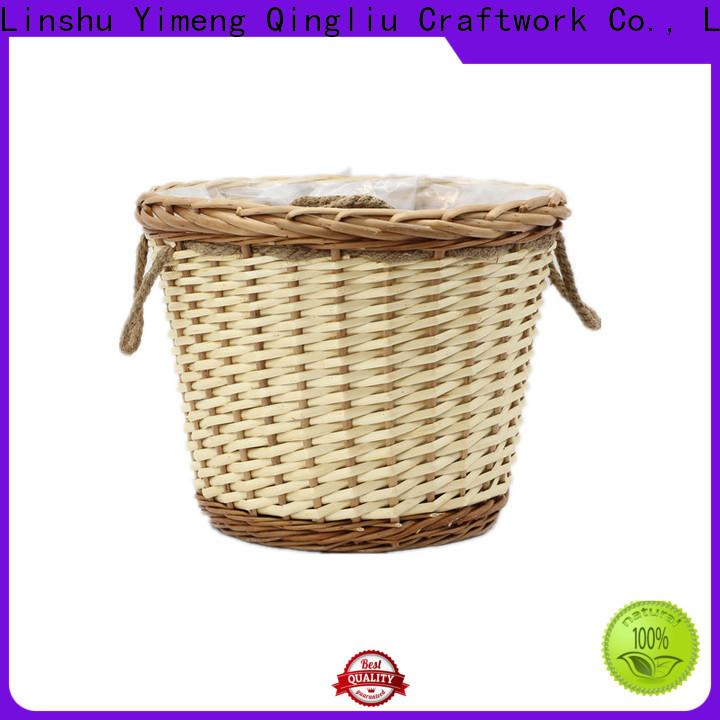 Yimeng Qingliu custom white wicker storage chest manufacturers for patio