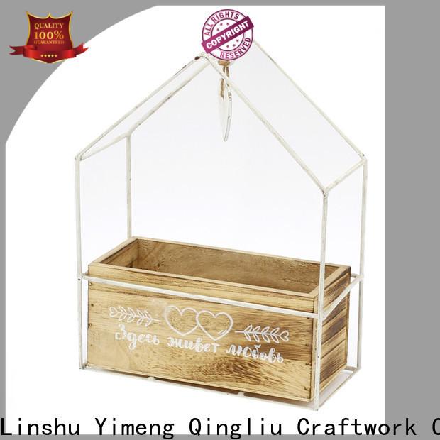 custom wood laundry basket company for garden