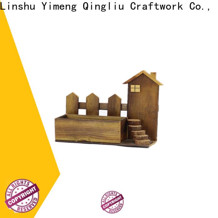 Yimeng Qingliu wooden linen basket manufacturers for patio