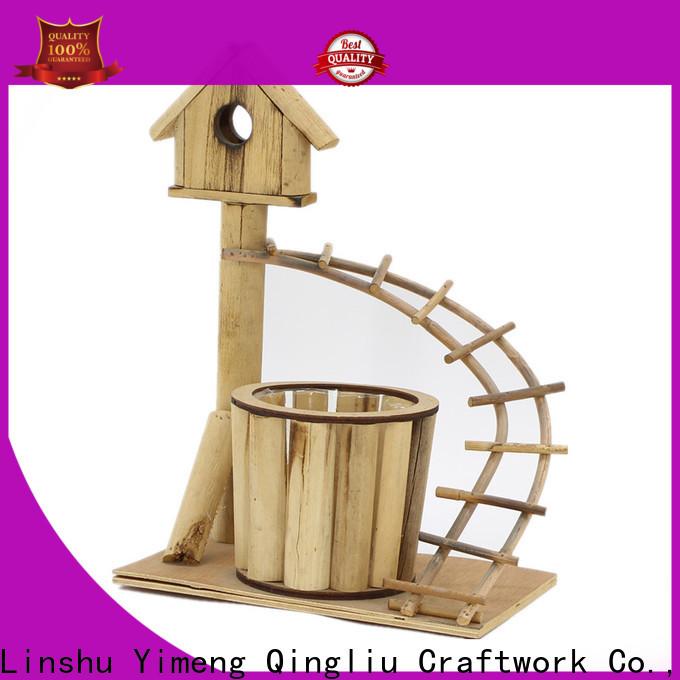 Yimeng Qingliu New wooden laundry bins manufacturers for garden