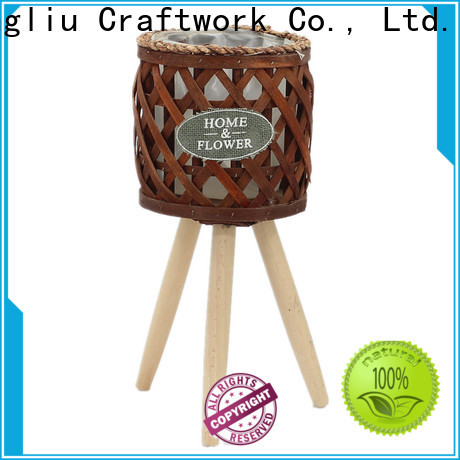 Yimeng Qingliu best wooden planters round factory for garden