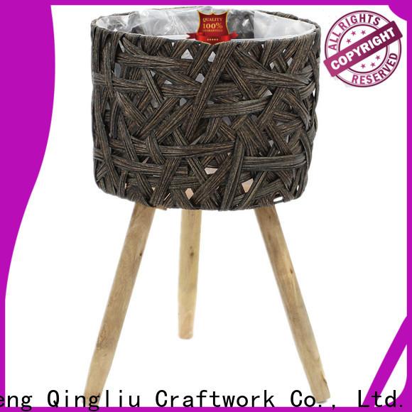 Yimeng Qingliu best wooden laundry bins supply for garden