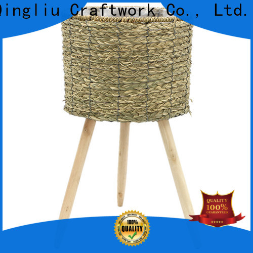 Yimeng Qingliu large seagrass planter suppliers for outdoor