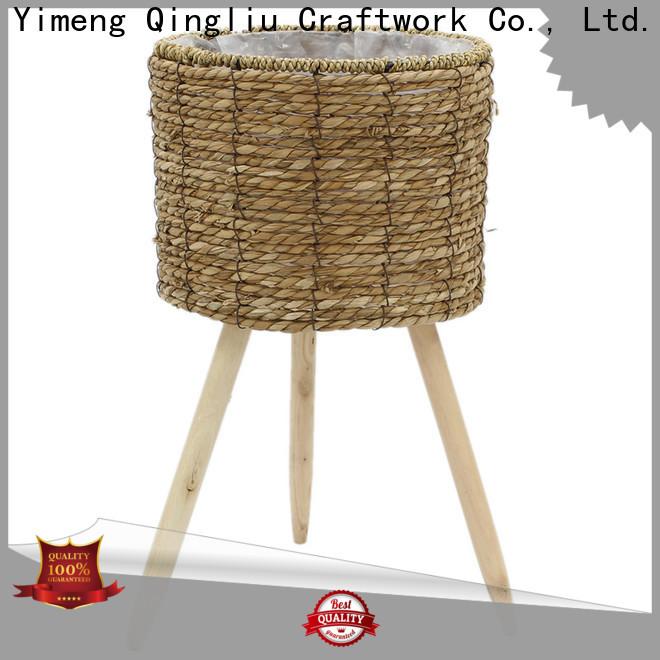 Yimeng Qingliu New woven seagrass basket manufacturers for garden