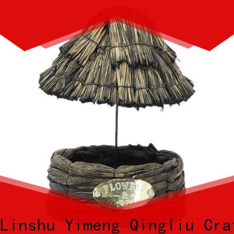 Yimeng Qingliu seagrass hanging planter supply for garden