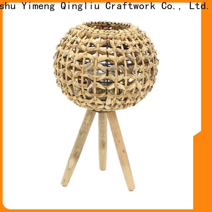 Yimeng Qingliu grey rattan lantern for business for patio
