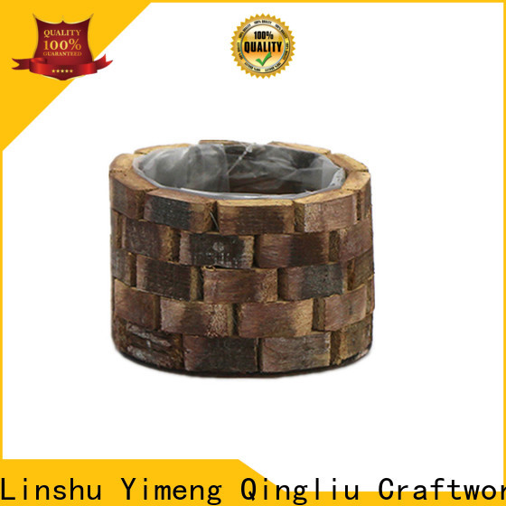 top custom wooden planters company for outdoor