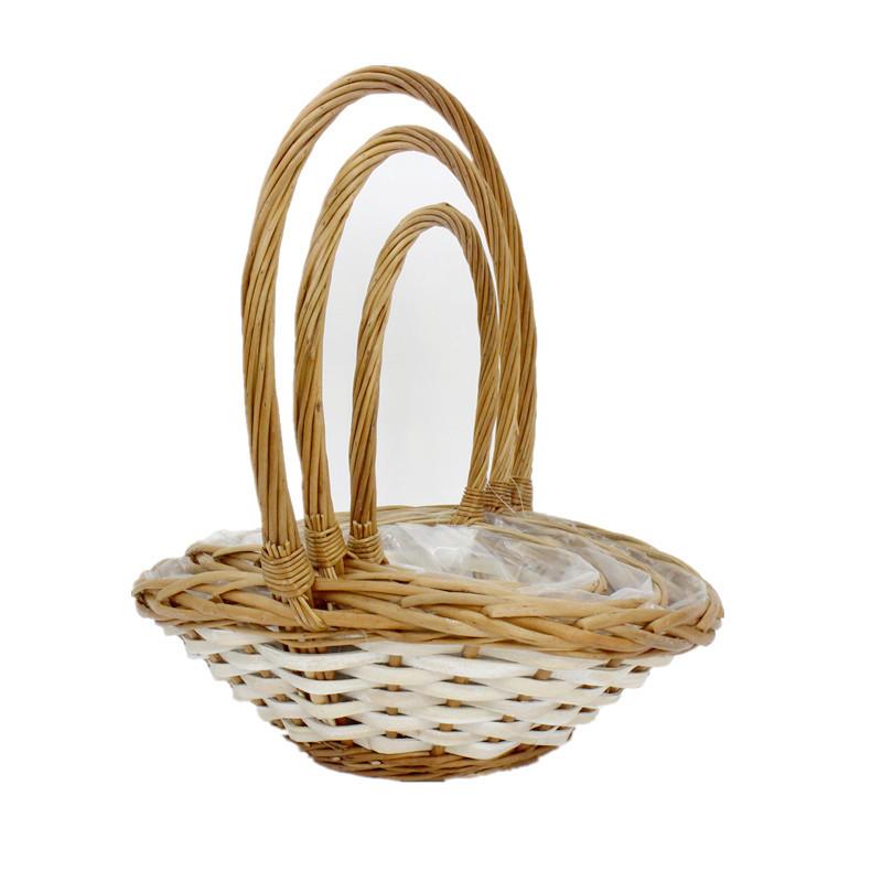 Lovely Wicker Flower Basket