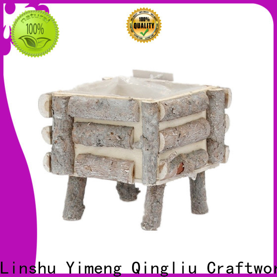 Yimeng Qingliu latest wooden bottle crate supply for garden