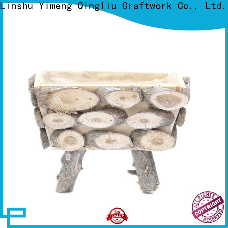 Yimeng Qingliu large wooden flower pots manufacturers for patio
