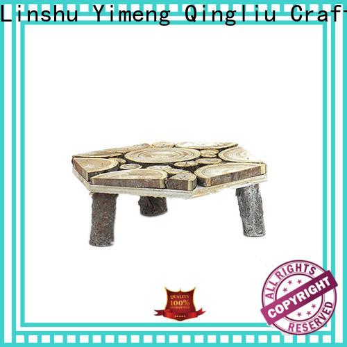 Yimeng Qingliu custom wooden flower pot hanger suppliers for patio