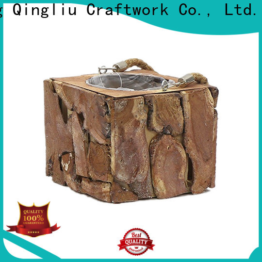 high-quality wood basket for fireplace supply for patio