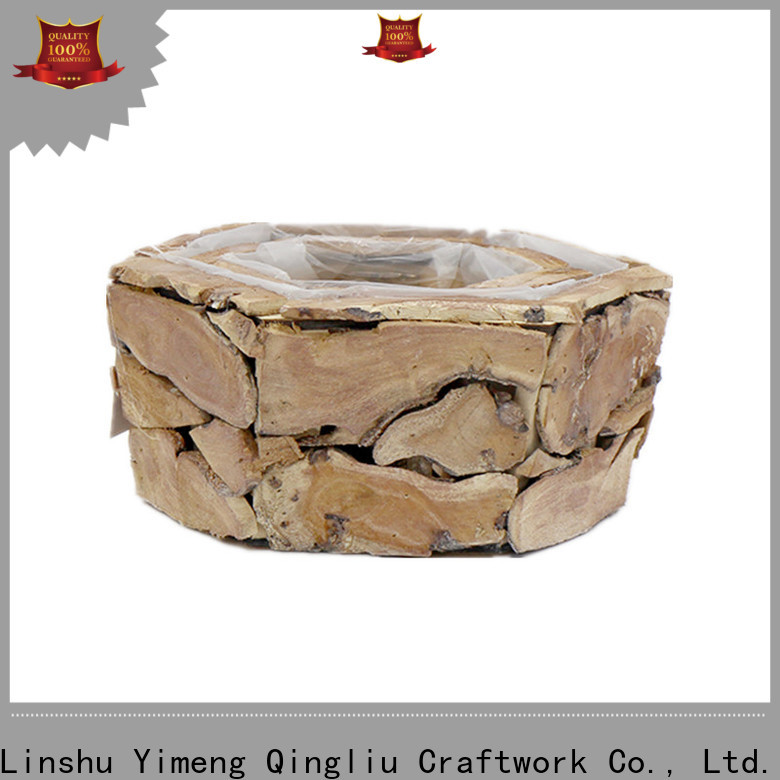 Yimeng Qingliu custom wooden storage crates for sale for patio