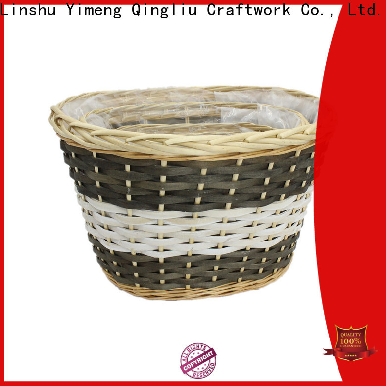 Yimeng Qingliu wholesale wicker bins for business for indoor