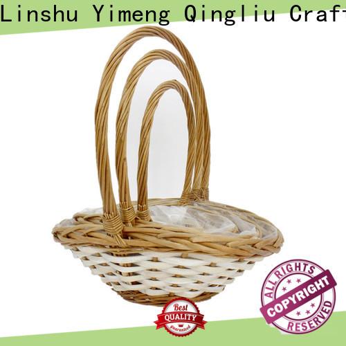 Yimeng Qingliu high-quality white rattan storage baskets suppliers for woman