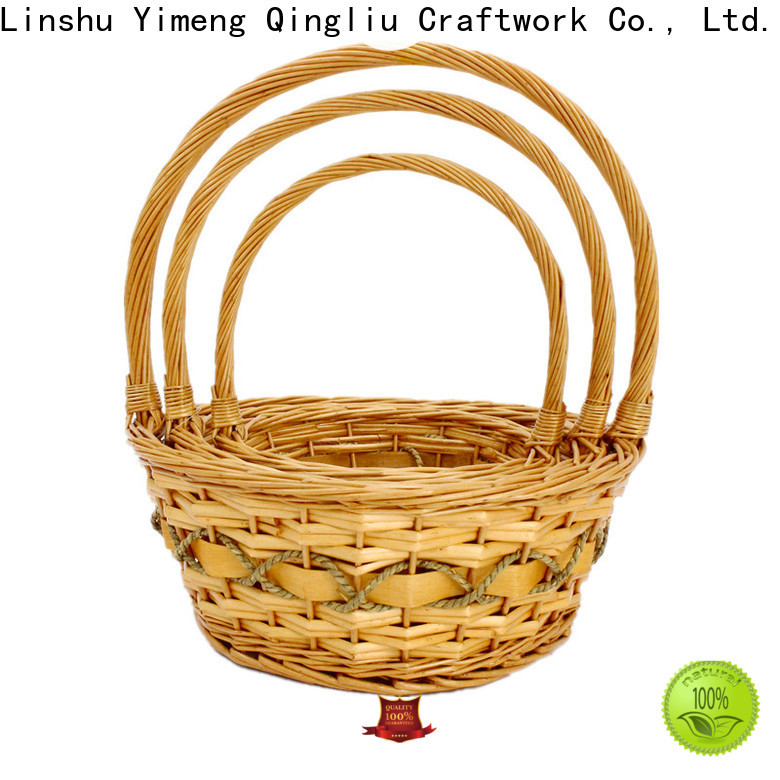 Yimeng Qingliu custom lidded basket manufacturers for present