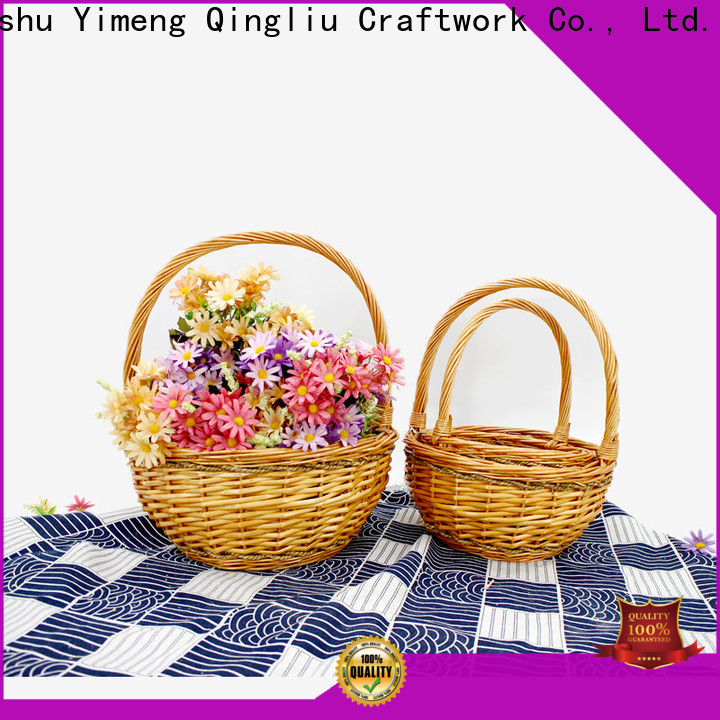 best canvas baskets suppliers for girl