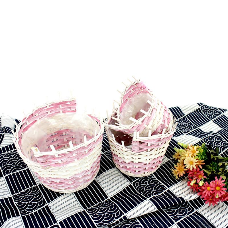 Exquisite Pink Storage Basket