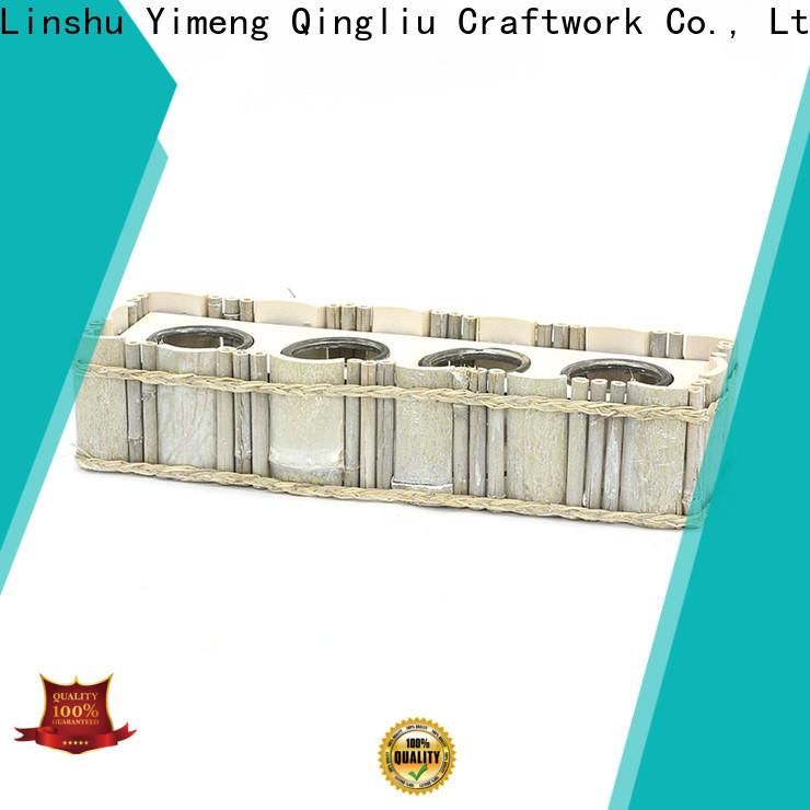 custom white wooden laundry basket supply for garden