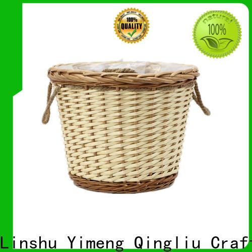 Yimeng Qingliu white wicker trunk for business for outdoor