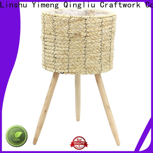 Yimeng Qingliu round seagrass basket for sale for outdoor
