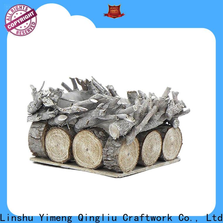 Yimeng Qingliu New wooden storage baskets manufacturers for garden