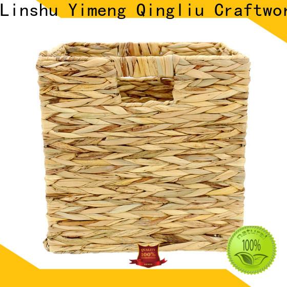 Yimeng Qingliu custom blanket basket factory for garden