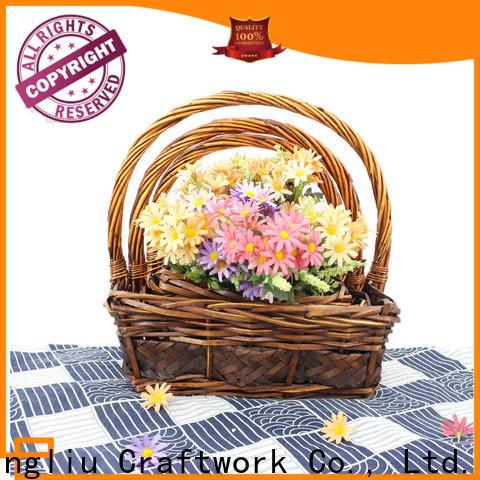 Yimeng Qingliu wicker wash basket supply for gift