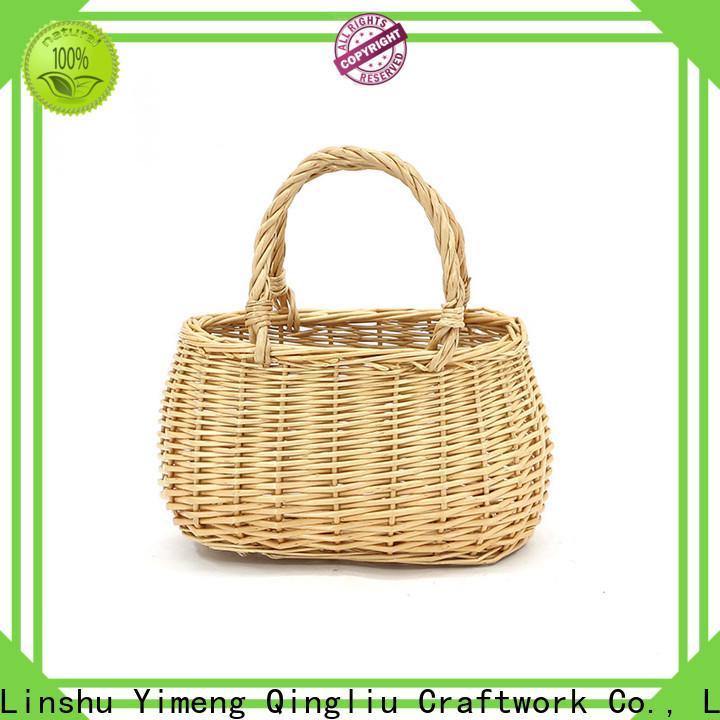 Yimeng Qingliu round baskets for business for shopping