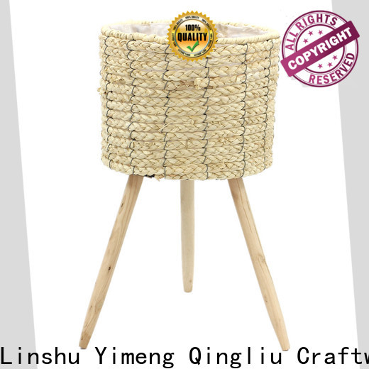 Yimeng Qingliu plant belly basket supply for outdoor