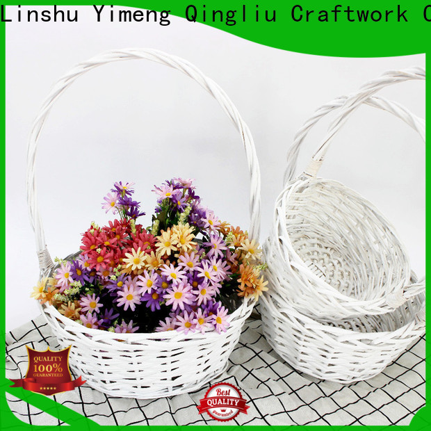 Yimeng Qingliu New wicker kitchen baskets factory for outdoor