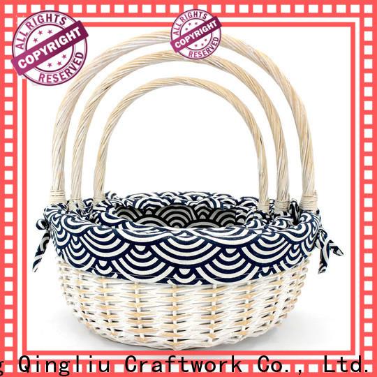 Yimeng Qingliu high-quality grey bathroom baskets for business for girl