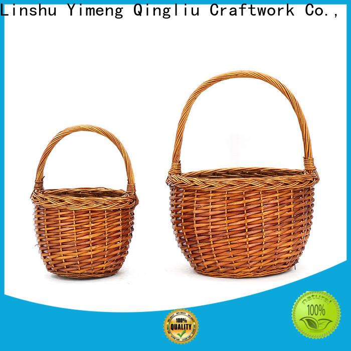 Yimeng Qingliu top black wicker laundry basket supply for woman