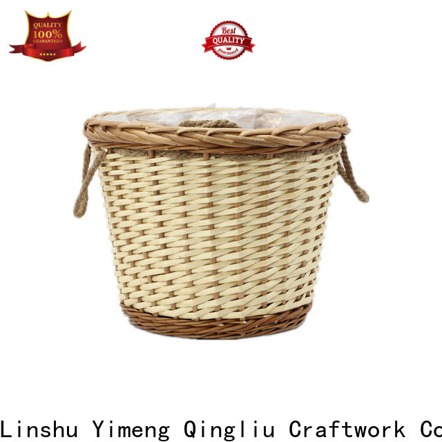 Yimeng Qingliu large wicker storage chest supply for outdoor