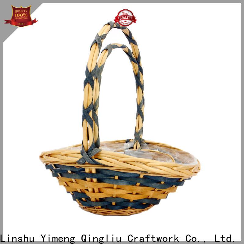 custom oval basket supply for gift