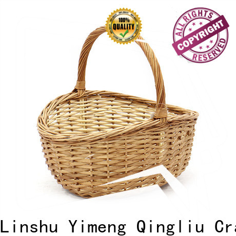 Yimeng Qingliu black and white storage baskets suppliers for boy
