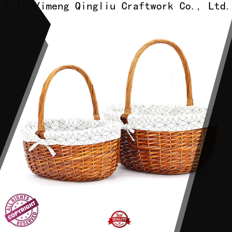 Yimeng Qingliu hamper basket with handle for business for outside