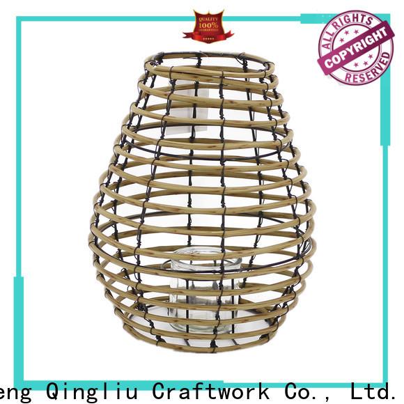 Yimeng Qingliu outdoor woven lantern supply for garden