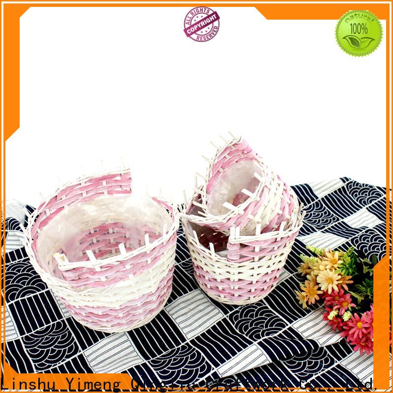 Yimeng Qingliu best wicker shoe storage company for garden