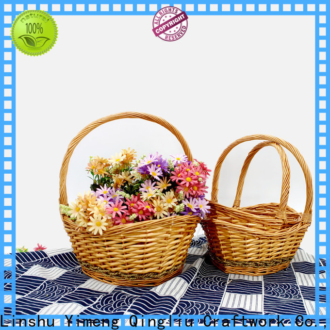 latest wicker fishing basket manufacturers for outdoor