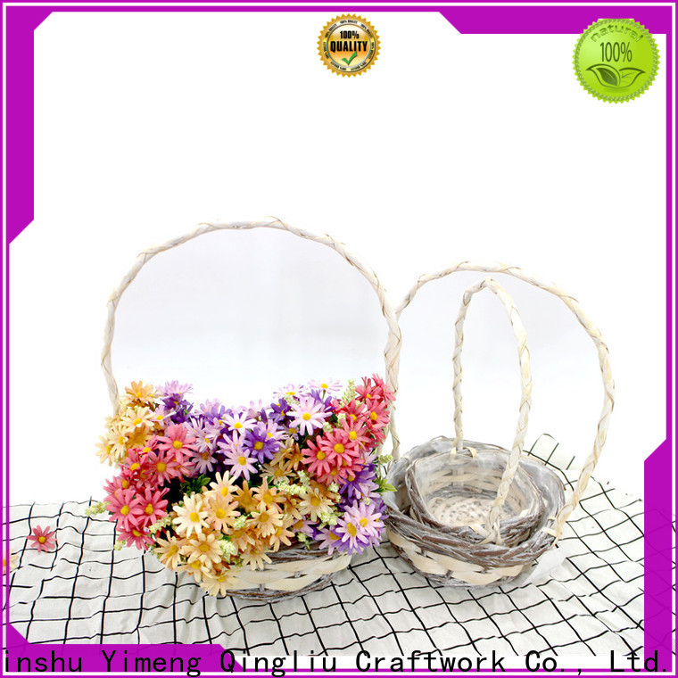 Yimeng Qingliu the range hamper baskets manufacturers for girl
