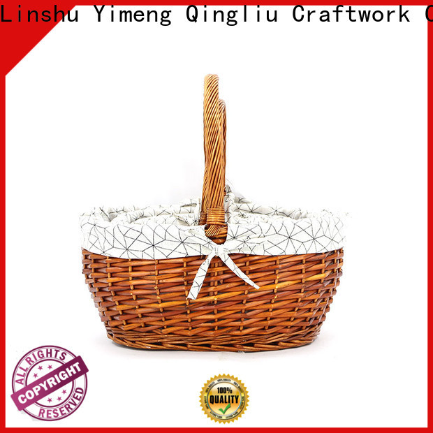 Yimeng Qingliu large storage basket with lid factory for woman