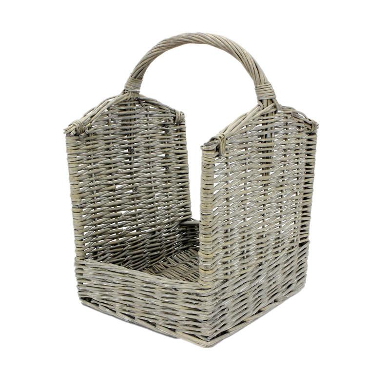 Antique Open End Storage Basket