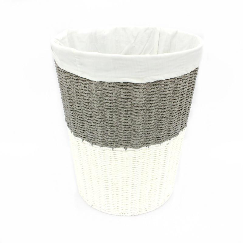 Modern Rope Paper laundry Basket