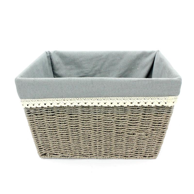 Rectangular Rope Paper Basket